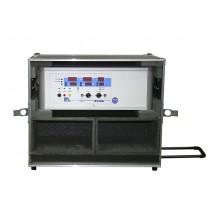 Gerätekoffer GK-XRiG mit Rollen und Teleskopgriff, für Serien 28, UX36 und RS36B-50, Tiefe 300 mm