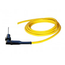 HV-Kabel HVC06NW, mit HV-Winkelstecker HVP06N und offenem Ende