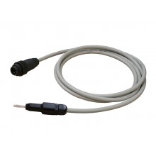 MR-test lead PEP4MR-B02 with plug 4-pole, and 4 mm lamellar plug, cable length 2 m