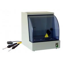 Sicherheitsprüfkäfig SICAB28-0710-NN02, mit Prüfklemmen und Anschlussleitungen