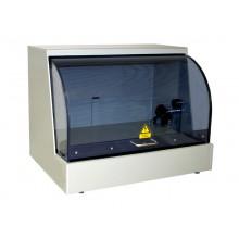 Sicherheitsprüfkäfig DOCAB unbeschaltet, komplett montiert mit Sicherheitsschalter und Gasfeder