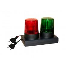 Signalleuchte WK28, Signalleuchte rot/grün nach VDE 0104 / EN 50 191