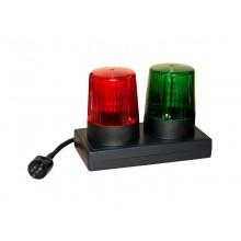 Signalleuchte WK36, Signalleuchte rot / grün nach VDE 0104 / EN 50191