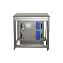 System-Prüftisch, fahrbar, Grundgestell aus 45er Rexroth-Profilen