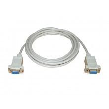 Verbindungskabel RS232K400-03, Serie 400, zur Fernsteuerung des Prüfgeräts über PC oder SPS