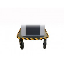 Expanded base plate for testing vehicular icluding big rolls  240 x 70 mm