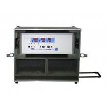 Gerätekoffer GK-XRiG mit Rollen und Teleskopgriff, für Serien UX36 und RS36B-75/100, Tiefe 420 mm