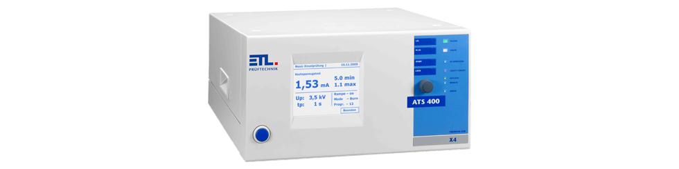 VDE Prüfgerät ATS 400 - Bedienvariante X4