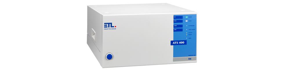 VDE Prüfgerät ATS400 X6